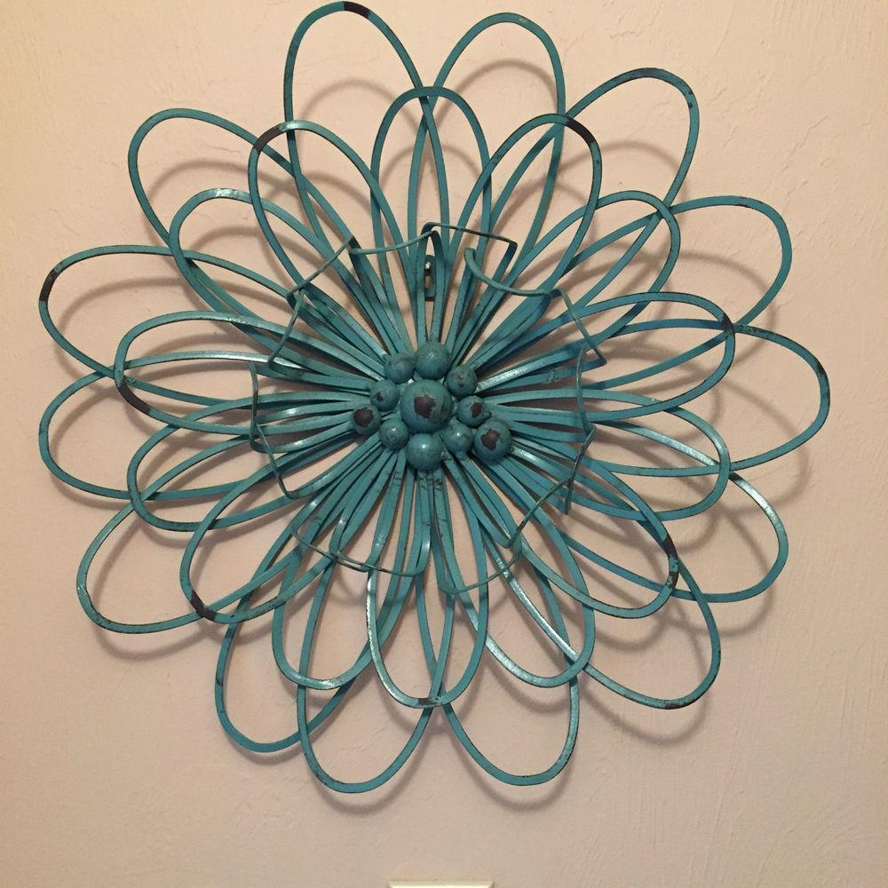 Wall Ideas: Turquoise Metal Wall Art Images (View 10 of 20)