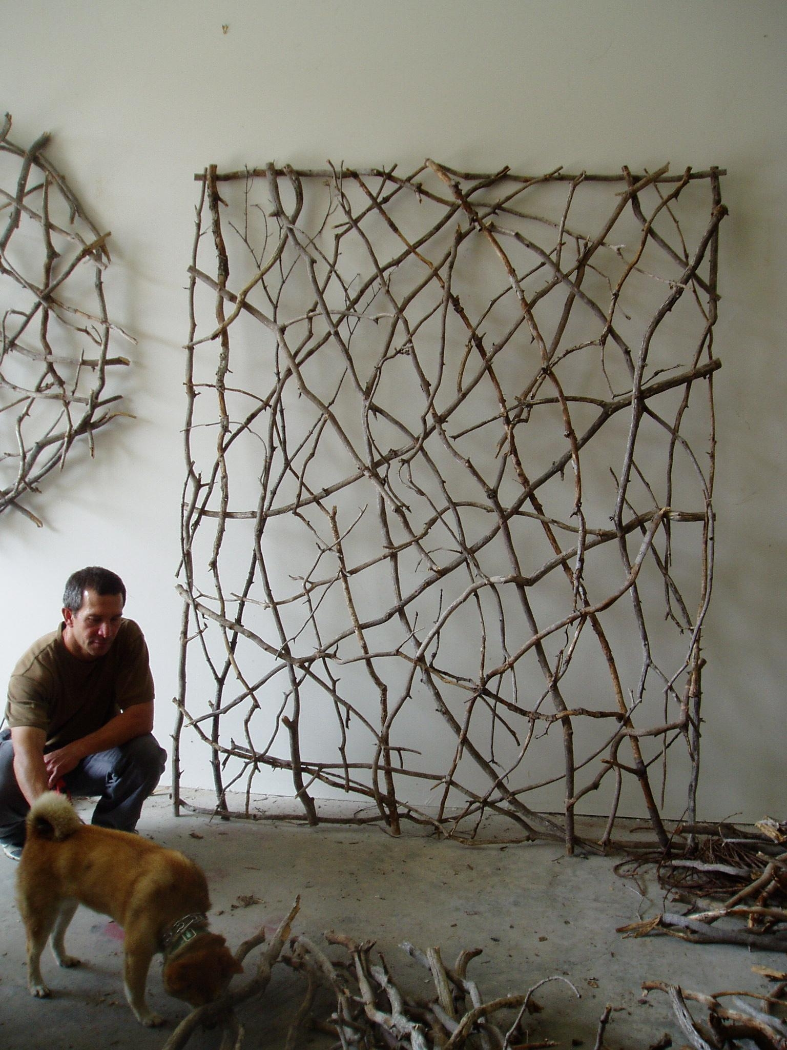 Wall Ideas: Twig Wall Art Design. Wall Design (Image 15 of 20)