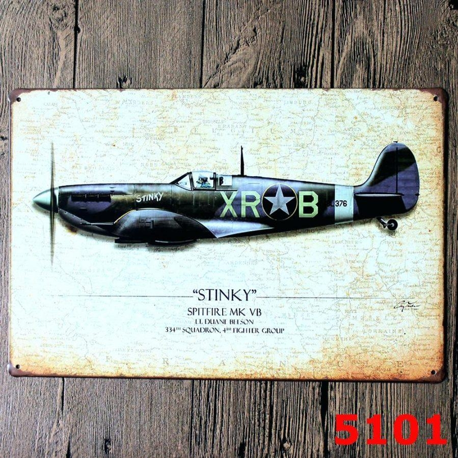 Wall Ideas : Vintage Planes Wall Art Delightful Interior Intended For Metal Airplane Wall Art (View 3 of 20)