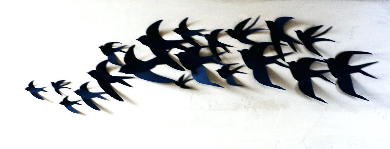 Wall Ideas: Wall Art Birds. Sea Birds Wall Art Metal (View 18 of 20)