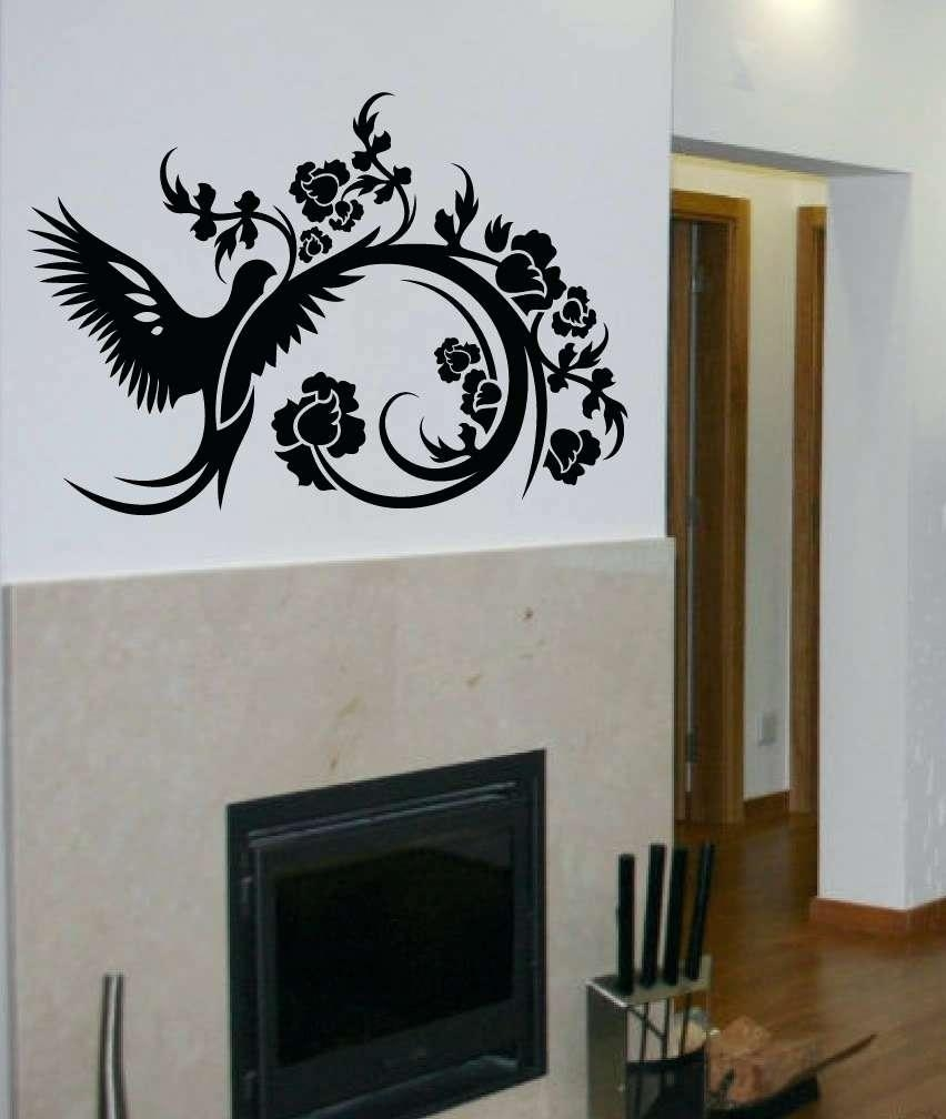 Wall Ideas: Wall Art Decal. Wall Art Sticker Tree (View 17 of 20)