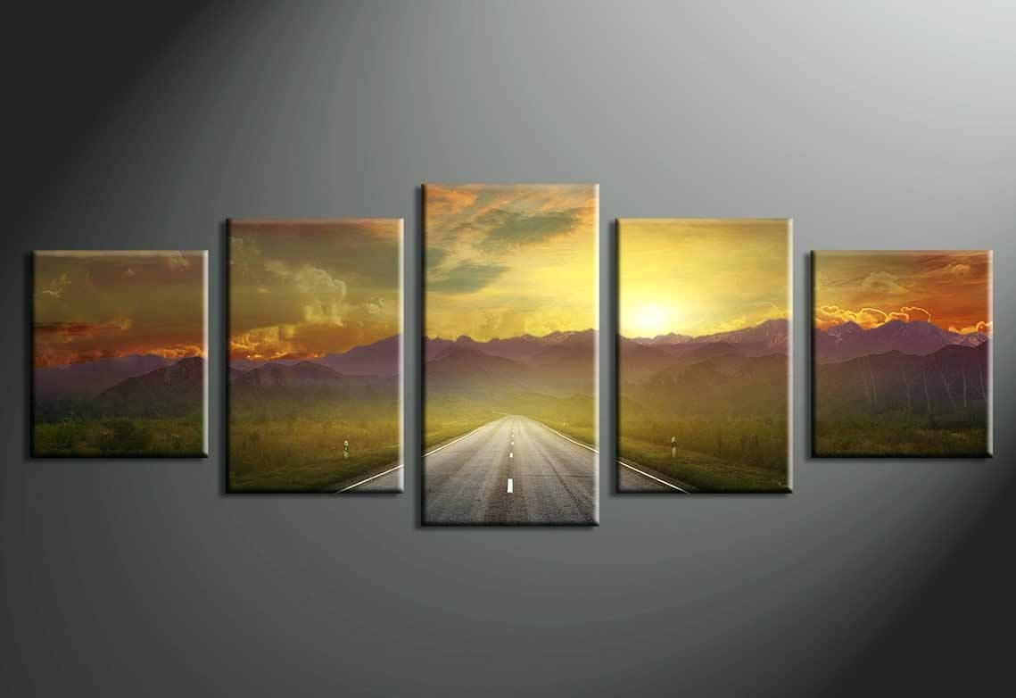 Wall Ideas : Wall Art Exciting Multi Piece Wall Art 3 Piece Wall Intended For Multi Piece Canvas Wall Art (View 4 of 20)