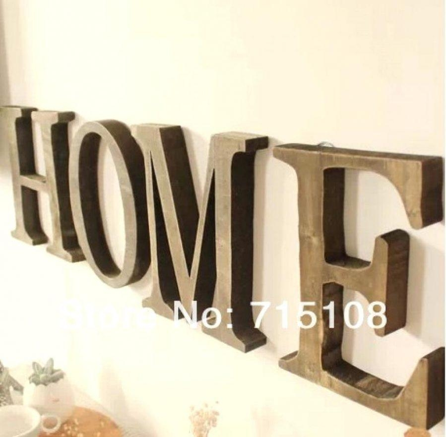 Wall Ideas : Wall Art Stickers Alphabet Wall Art Letters Wood Inside Wall Art Letters Uk (Image 15 of 20)