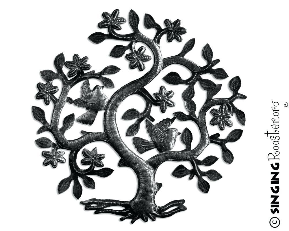 Wall Ideas: Wall Art Tree. Metal Wall Art Tree Of Life (View 16 of 20)