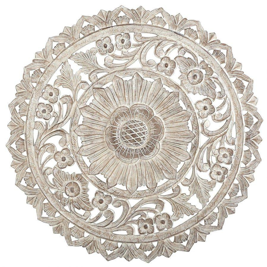 Wall Ideas : White Medallion Wall Decor Metal Medallion Wall Decor For White Medallion Wall Art (Image 11 of 20)