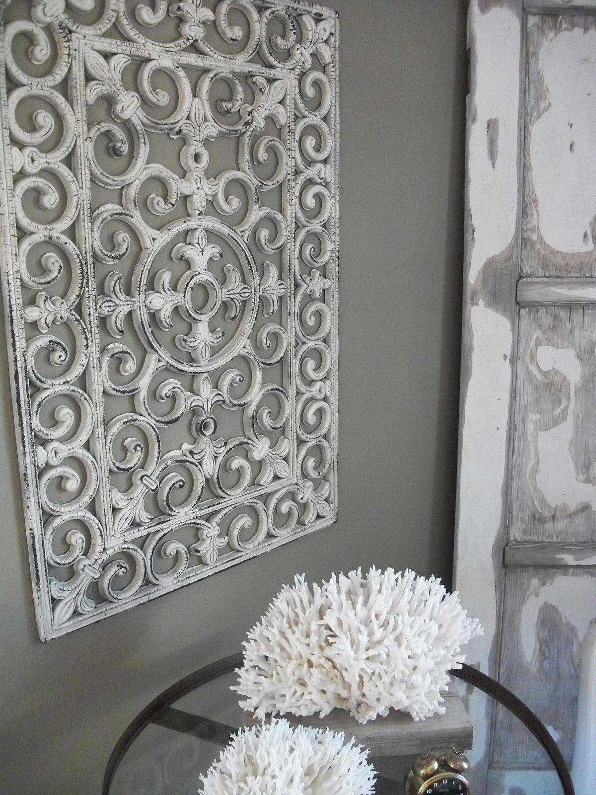 Wall Ideas: White Metal Wall Art Pictures (Image 16 of 20)