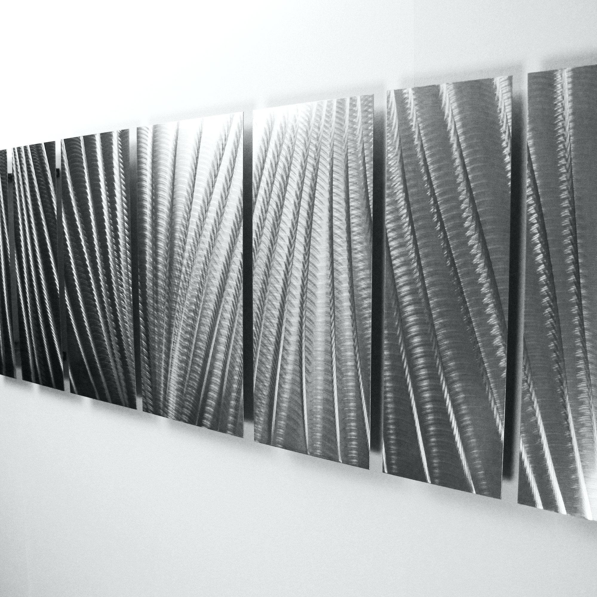 Wall Ideas: White Metal Wall Art (Image 18 of 20)