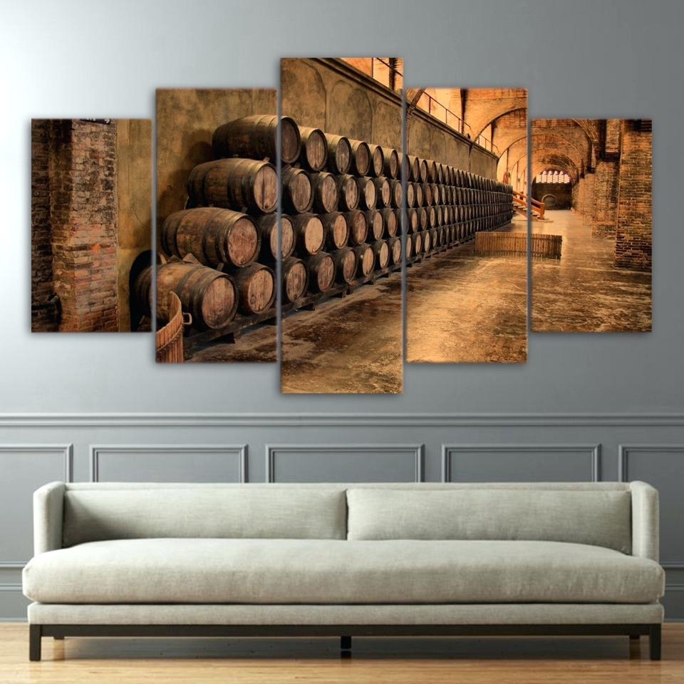 Wall Ideas: Wine Barrel Wall Decor (Image 11 of 20)
