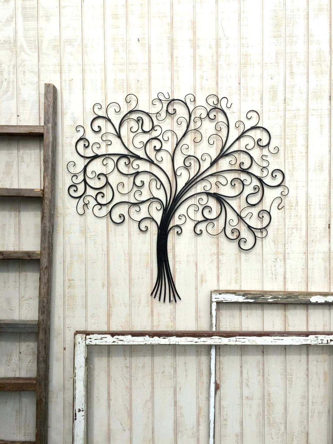 Wall Ideas : Wrought Iron Arch Wall Art Decor Panel Support Your Throughout Large Wrought Iron Wall Art (View 4 of 20)