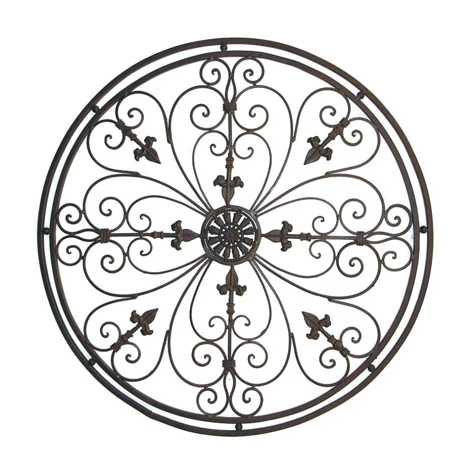 Wall Ideas: Wrought Iron Wall Art (View 3 of 20)