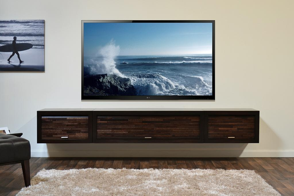 Wall Mount Tv Cabinet – Imanisr In Most Up To Date Modern Tv Stands With Mount (View 10 of 20)