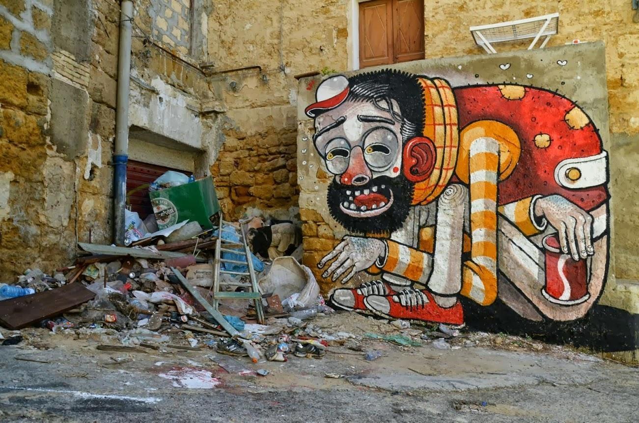 Wall Murals & Street Art Vol 5 | Urban, Graffiti & Street Artists With Italian Art Wall Murals (Image 16 of 20)