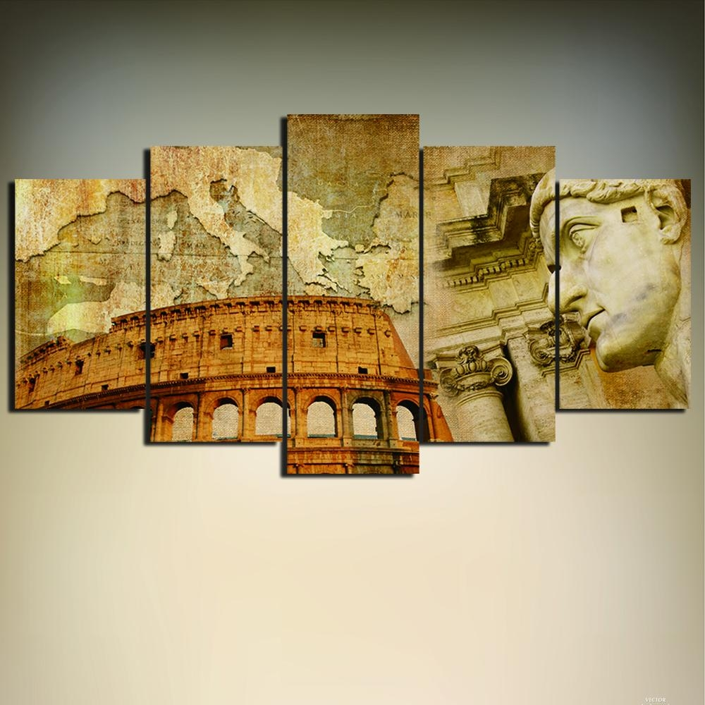 Wall Paint Art Promotion Shop For Promotional Wall Paint Art On Inside Modern Italian Wall Art (View 12 of 20)