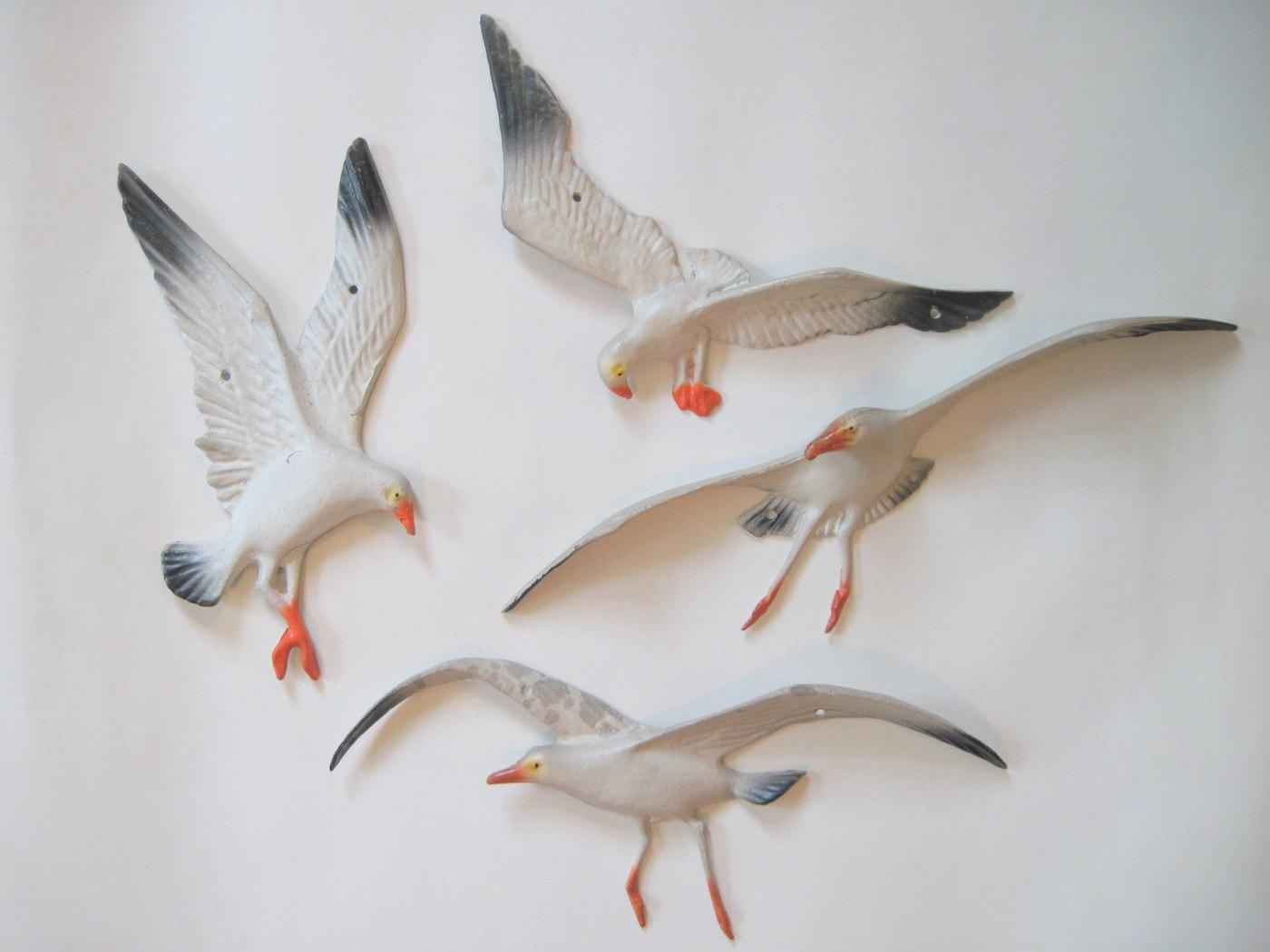 Featured Image of Seagull Metal Wall Art
