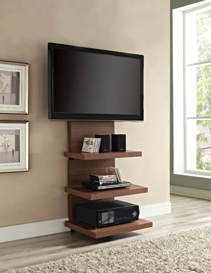 Wall Shelves Design: Ultimate Home Theater Wall Mount Shelves Av Intended For Latest Sleek Tv Stands (Image 20 of 20)