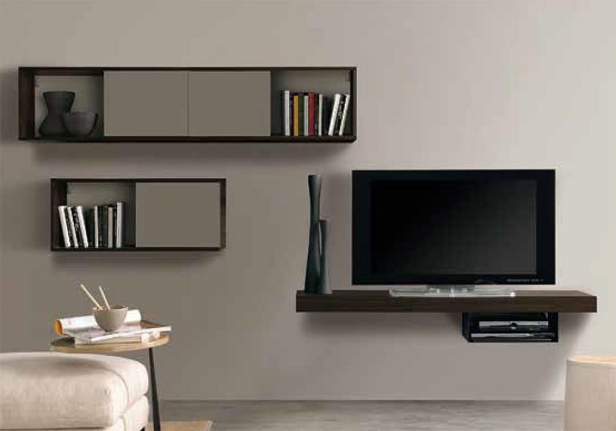 Wall Shelves Design: Wall Mount Tv Stand With Shelves Soundbar Intended For Current Modern Wall Mount Tv Stands (Image 17 of 20)
