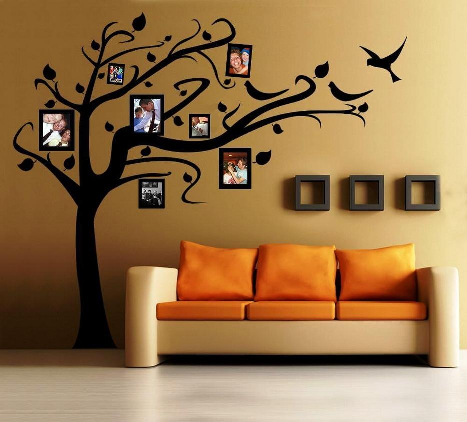 Wall Stencil Decoration Ideas | Home Furniture With Wall Art Designs (Image 19 of 20)