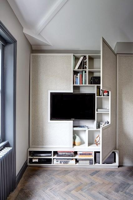 Wall Tv Cabinet Storage | Small Space Flat Design Ideas Within Most Popular Tv Cabinets With Storage (Image 16 of 20)