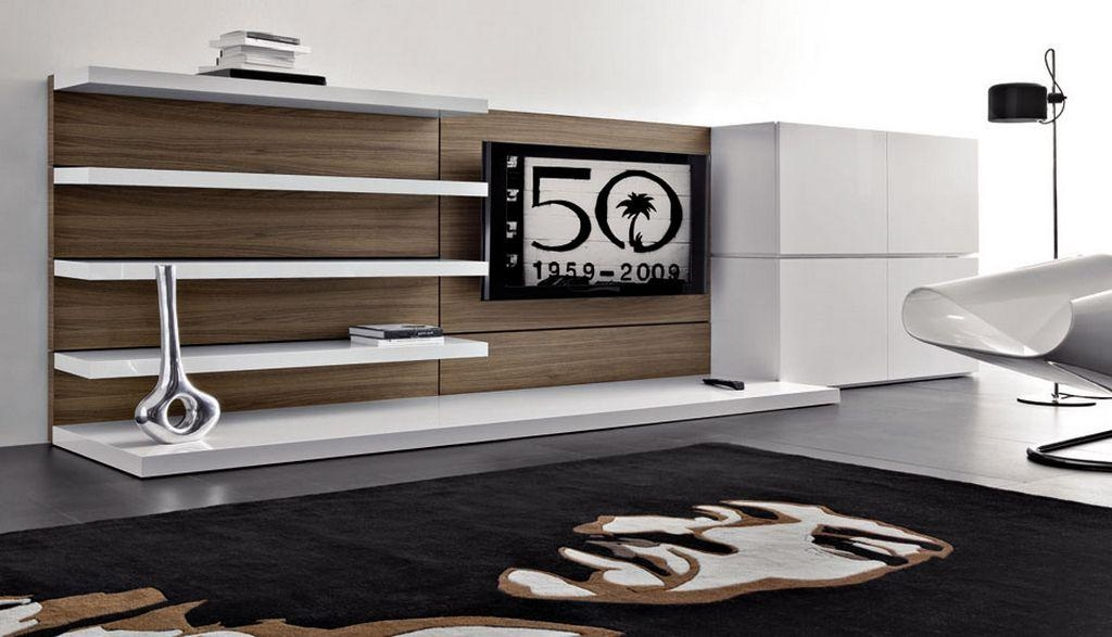 Wall Tv Unit Designs #1470 | Latest Decoration Ideas Throughout Best And Newest Contemporary Tv Cabinets (Image 18 of 20)