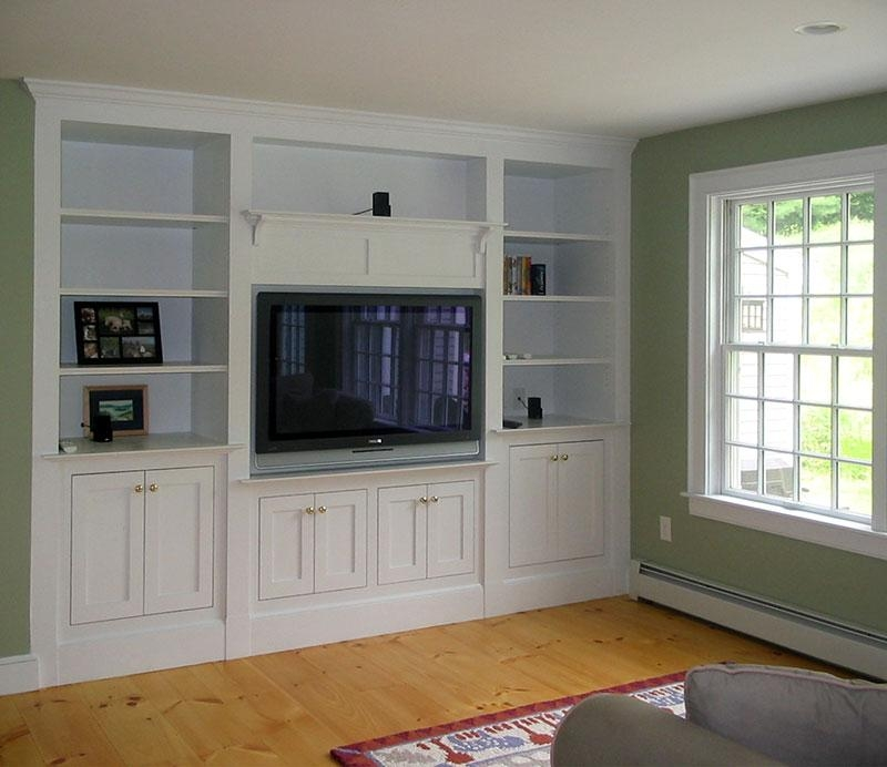 Wall Units: Amusing Custom Tv Cabinets Custom Tv Stands, Custom Regarding Current White Tv Stands For Flat Screens (Image 17 of 20)
