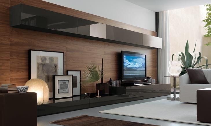 Wall Units: Amusing Modern Wall Units Entertainment Centers Wall With Recent Contemporary Tv Wall Units (Image 20 of 20)