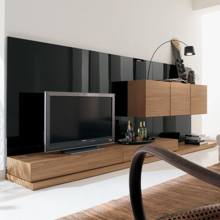 Wall Units: Amusing Tv Console Wall Units Tv Wall Units With Pertaining To Most Recently Released Wooden Tv Stands And Cabinets (Image 18 of 20)