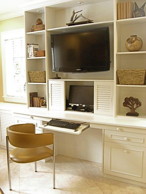 Featured Photo of Tv Stand And Computer Desk Combo