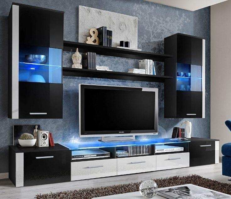 Wall Units: Astonishing Ideas On The Wall Tv Units Wall Unit In Newest On The Wall Tv Units (Image 15 of 20)