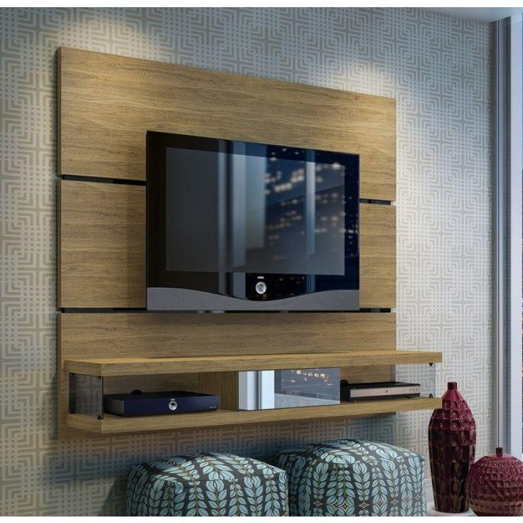 Wall Units: Astonishing Ideas On The Wall Tv Units Wall Unit Pertaining To 2018 Wall Mounted Tv Stands For Flat Screens (Image 19 of 20)