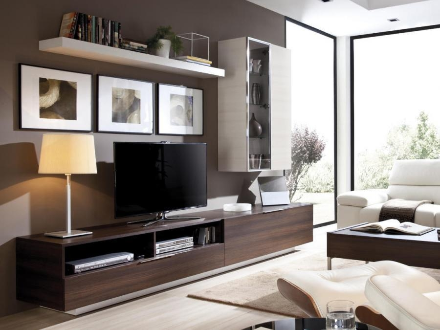 Wall Units: Astonishing Wall Display Units & Tv Cabinets Outdoor With Most Current Contemporary Tv Cabinets (Image 19 of 20)