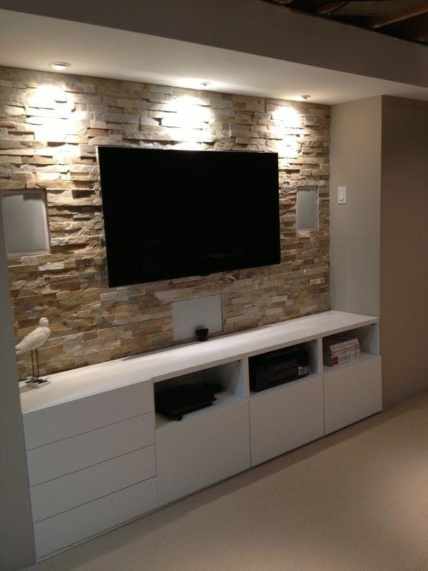 Wall Units: Awesome Tv Wall Entertainment Unit Walmart Inside Most Up To Date Tv Entertainment Units (Image 17 of 20)
