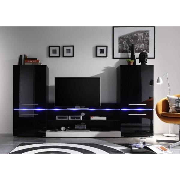 Wall Units For Tv Stand – Wall Units Design Ideas : Electoral7 Pertaining To Most Current Black Gloss Tv Wall Unit (Image 15 of 20)
