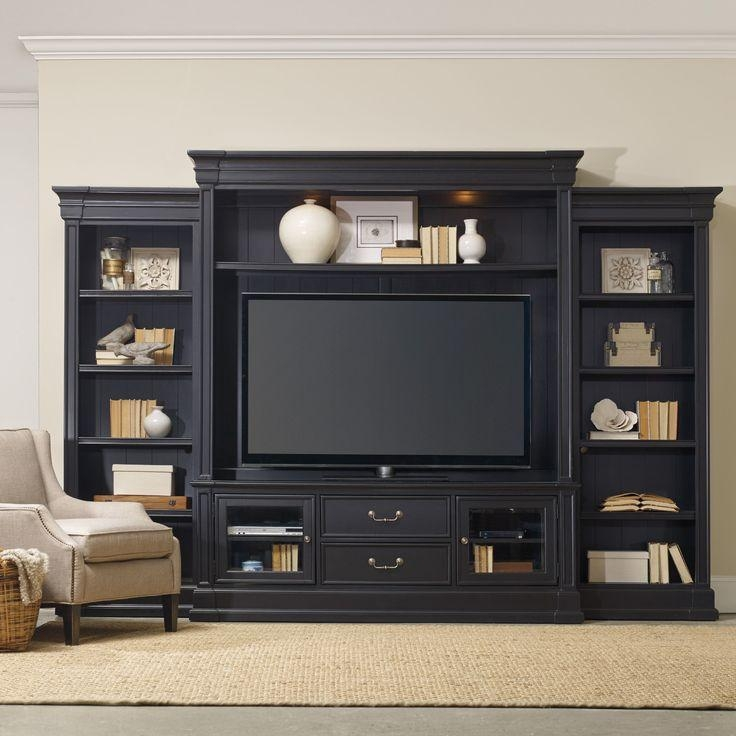 Wall Units: Inspiring Bookshelf Entertainment Unit Entertainment Intended For Most Recently Released Tv Entertainment Unit (View 15 of 20)
