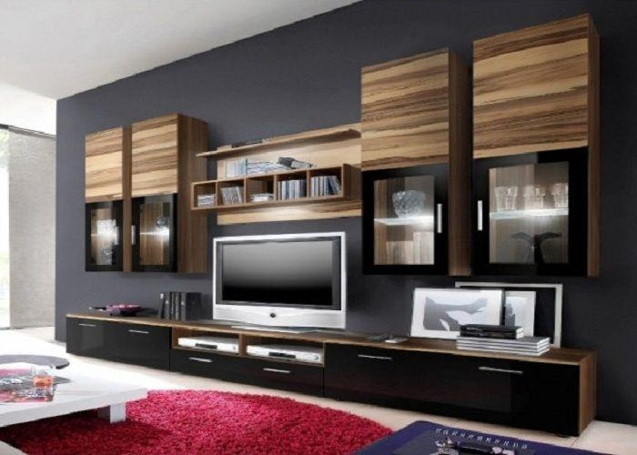 Wall Units: Outstanding Full Wall Tv Cabinets Full Wall Kitchen In Most Up To Date Tv Cabinets And Wall Units (View 8 of 20)