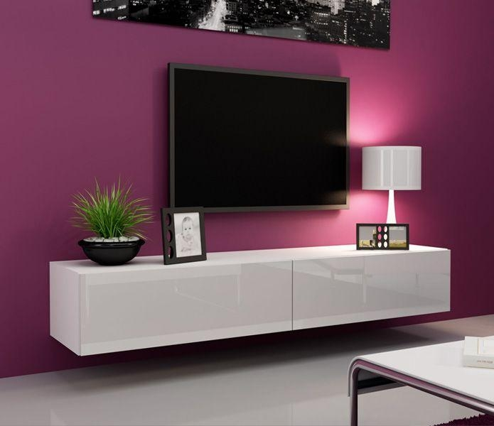 Wall Units: Outstanding White Tv Wall Unit Small Tv Wall Units Regarding Newest White Wall Mounted Tv Stands (Image 16 of 20)