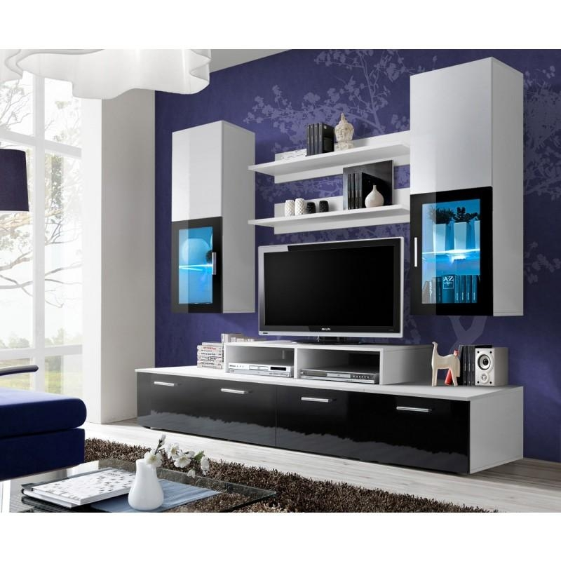 Wall Units: Stunning Modern Wall Unit Entertainment Center In Best And Newest Tv Entertainment Unit (Image 19 of 20)