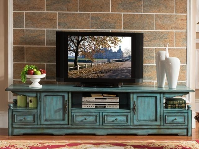 Wall Units (Image 20 of 20) - 20 Photos Antique Style Tv Stands Tv Cabinet And Stand Ideas