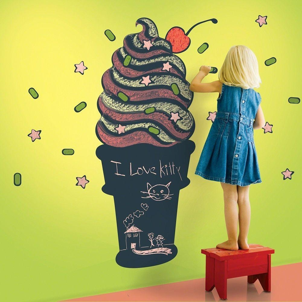 Wallcandy Arts Black Cupcake Chalkboard Kit » Gadget Flow With Regard To Wallcandy Arts (Image 10 of 20)