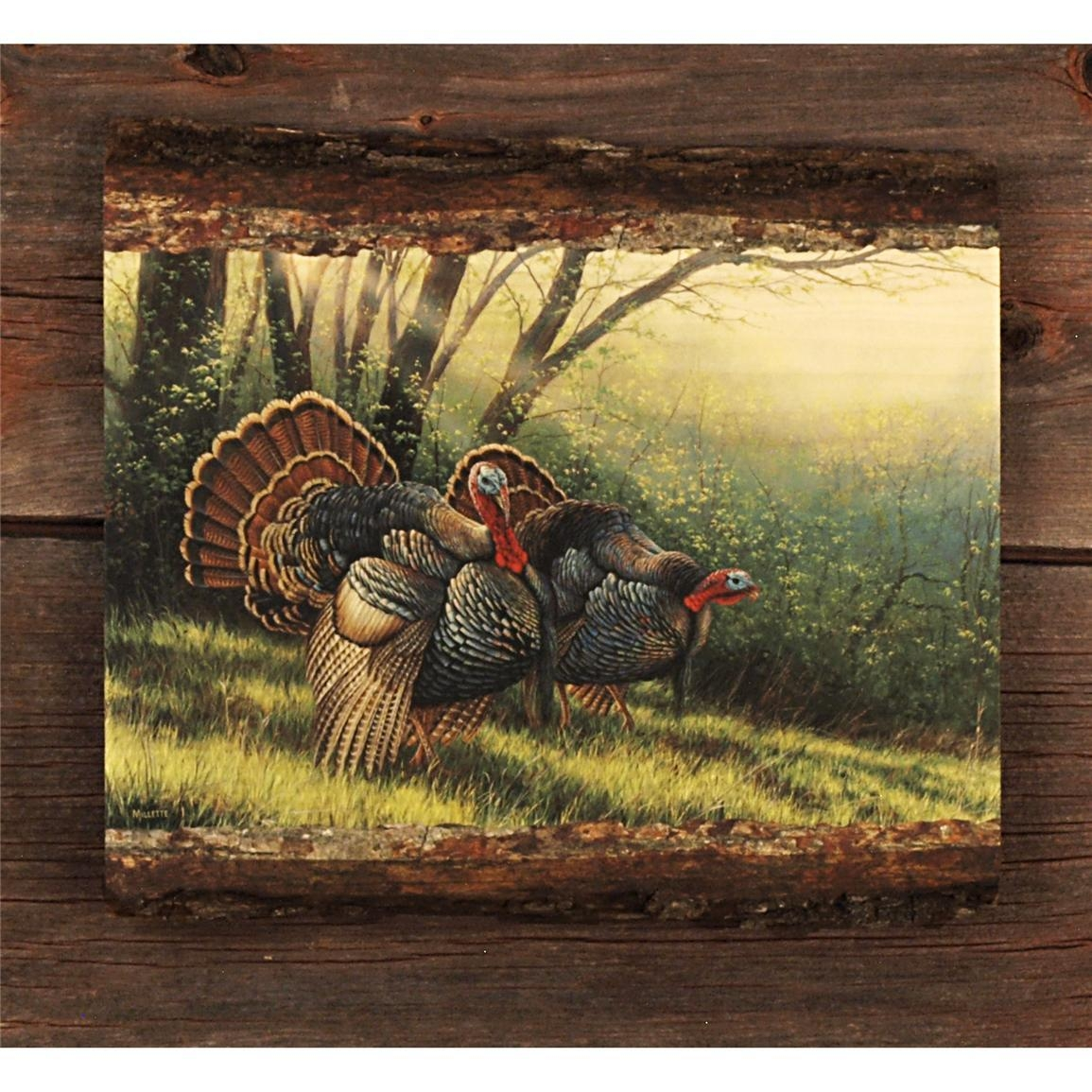 "Walnut Hollow® ""spring Strut Wild Turkey"" Wall Artrosemary For Rose Mary Wall Art (Image 17 of 20)"