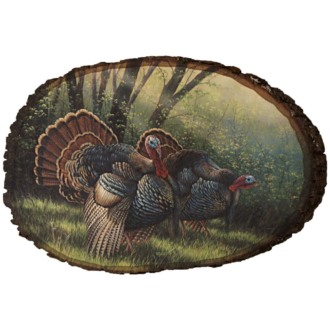 "Walnut Hollow® ""spring Strut Wild Turkey"" Wall Artrosemary In Rose Mary Wall Art (Image 19 of 20)"
