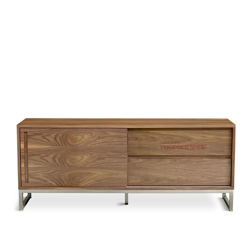 Walnut Quality Surface Scandinavian Modern Style Furniture, New Tv With Latest Scandinavian Tv Stands (Image 20 of 20)