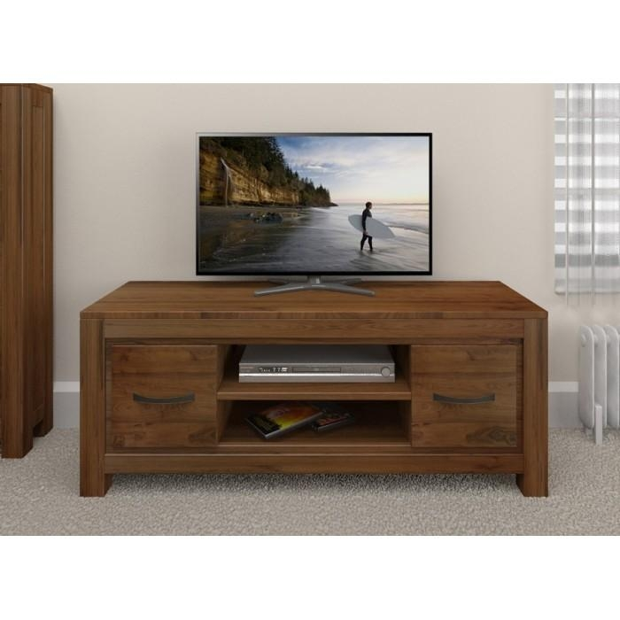 Walnut Tv Unit Buy Online Dark Wood Tv & Dvd Storage Cabinets With With Regard To Most Recent Dark Wood Tv Cabinets (View 10 of 20)