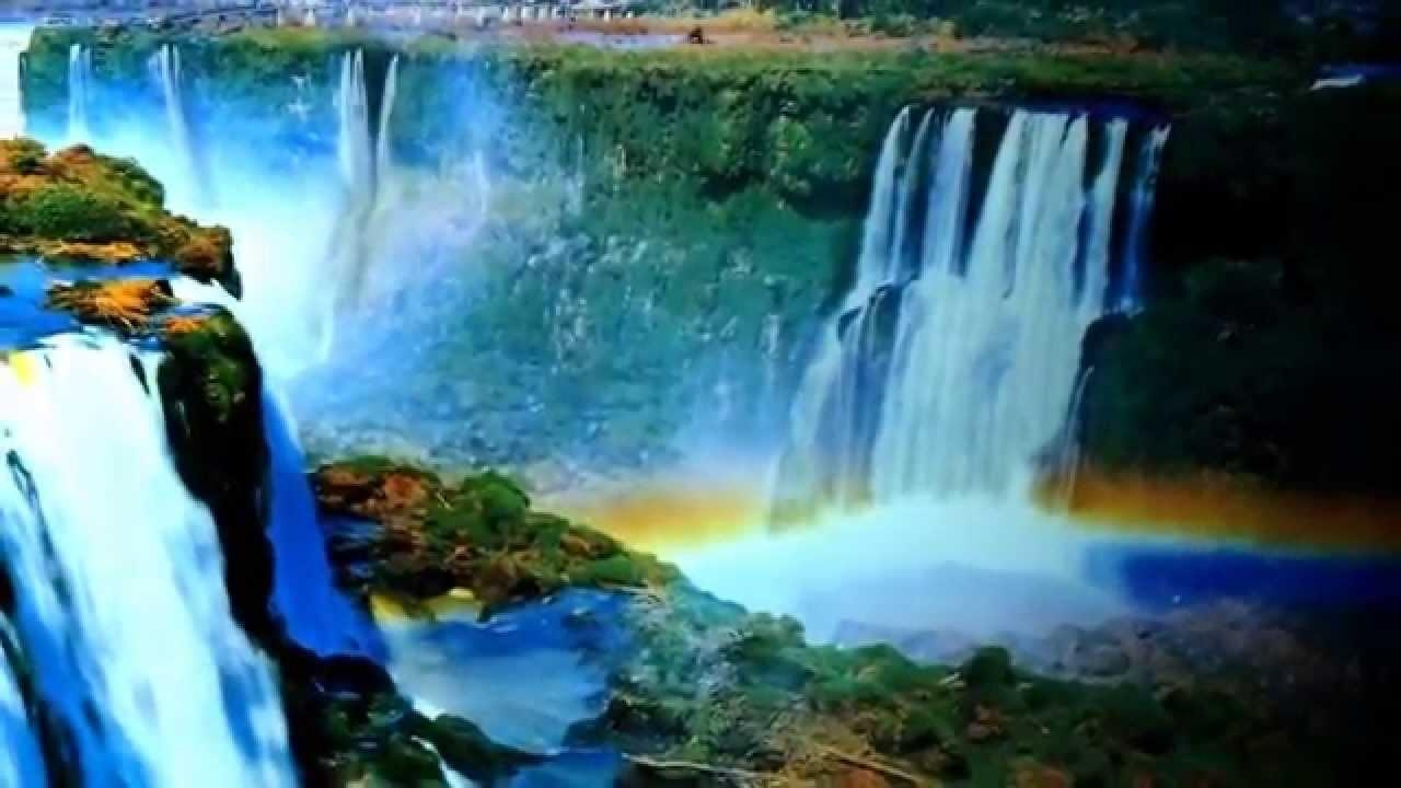 Waterfall Motion Art For Sale On Ebay – Youtube With Moving Waterfall Wall Art (View 3 of 20)