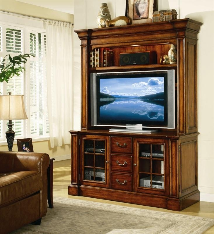 Waverly Place 60 Inch Entertainment Console With Hutch In In Most Popular 60 Inch Tv Wall Units (View 8 of 20)