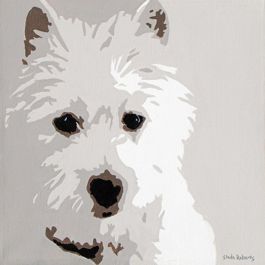 Westie Paintingslade Roberts Within Westie Wall Art (Image 19 of 20)