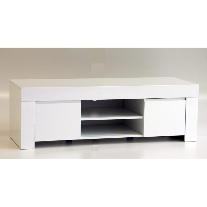 White & Black Gloss Tv Units, Stands And Cabinets – Sena Home Inside Most Current 150Cm Tv Unit (Image 20 of 20)
