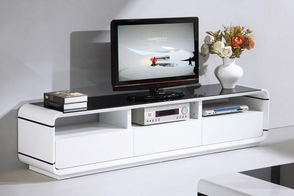 White Gloss Furniture – Unique & Modern Designs In Current Black High Gloss Corner Tv Unit (View 16 of 20)