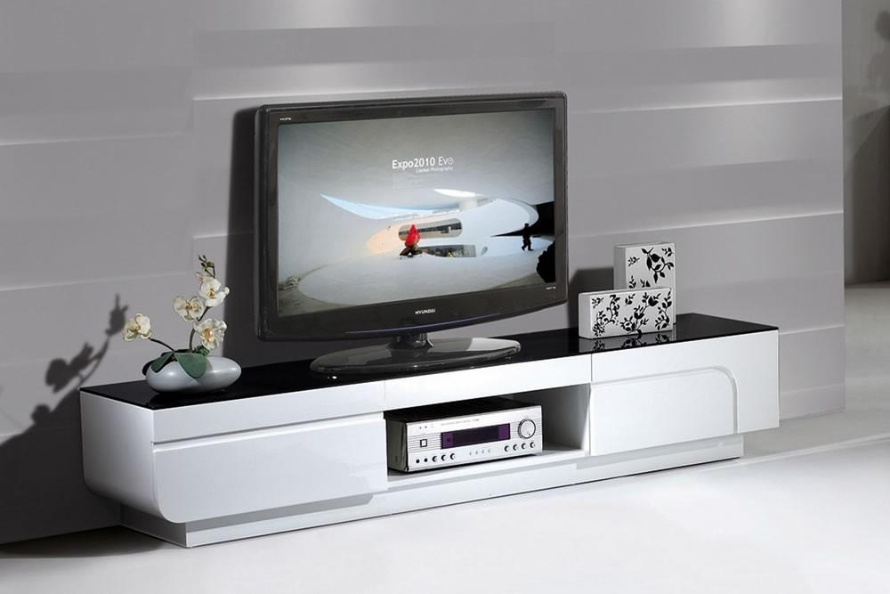White Modern Furniture, High Gloss White Desk White Gloss For Latest High Gloss Tv Cabinets (Image 20 of 20)