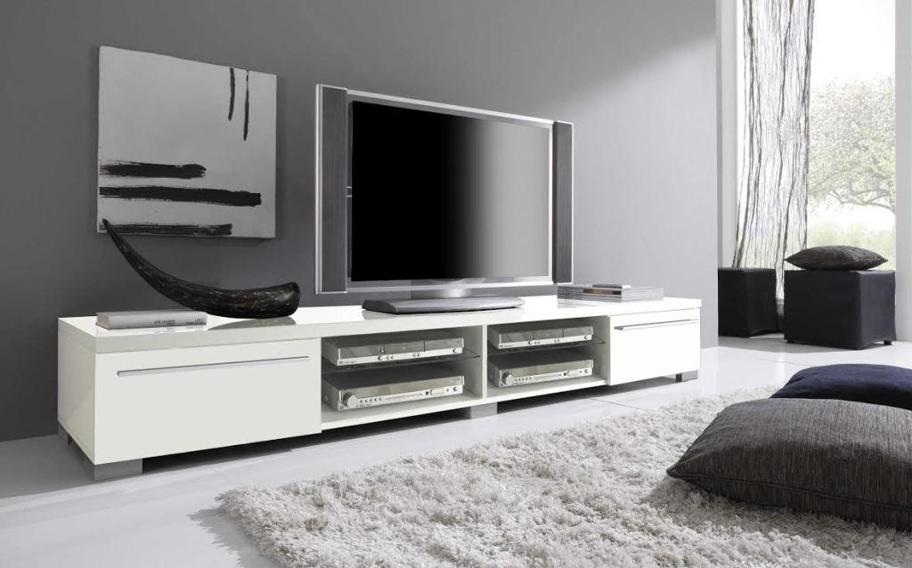 White Modern Tv Stands For Flat Screens Color : Charm And Modern For Most Recently Released Contemporary Tv Stands For Flat Screens (Image 19 of 20)