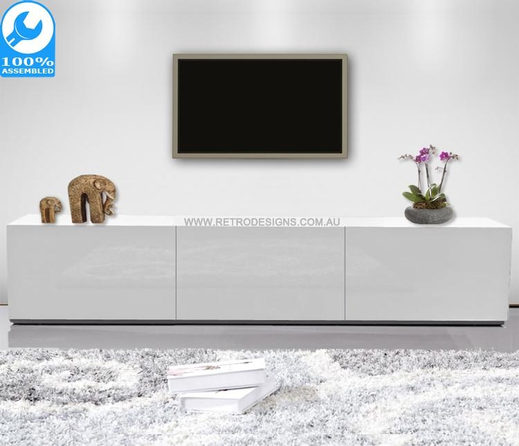 White Tv Cabinet | White Entertainment Unit | White Tv Stand In Best And Newest White Tv Cabinets (Image 19 of 20)